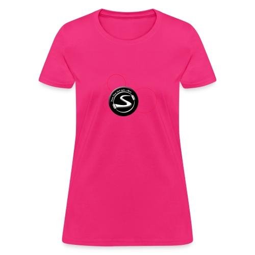 hidden mickey url circle - Women's T-Shirt