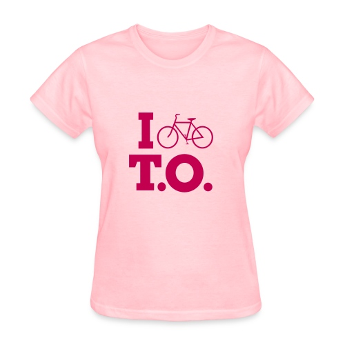 Left Wing Pinko I Bike T.O. T-Shirt (Womens) - Women's T-Shirt