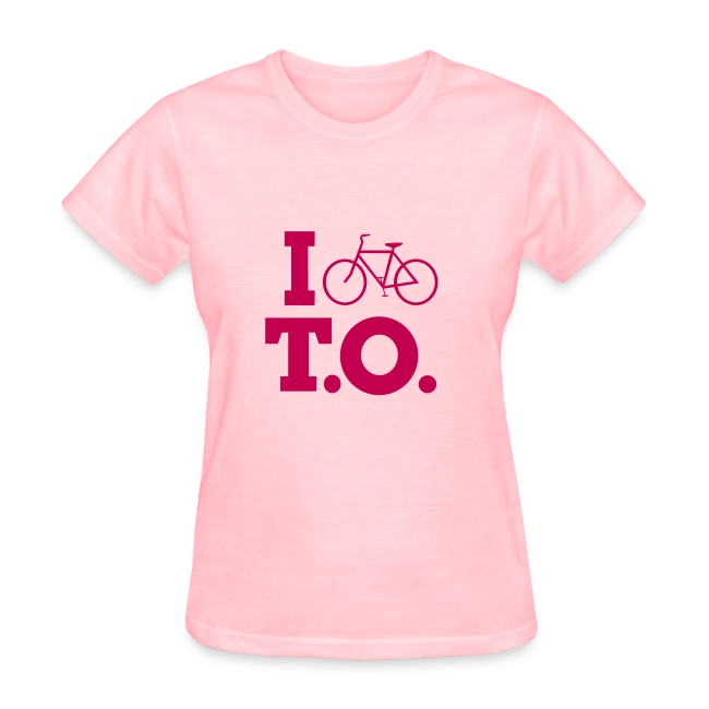 Left Wing Pinko I Bike T.O. T-Shirt (Womens)