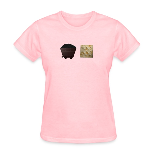 coalcrackr png - Women's T-Shirt