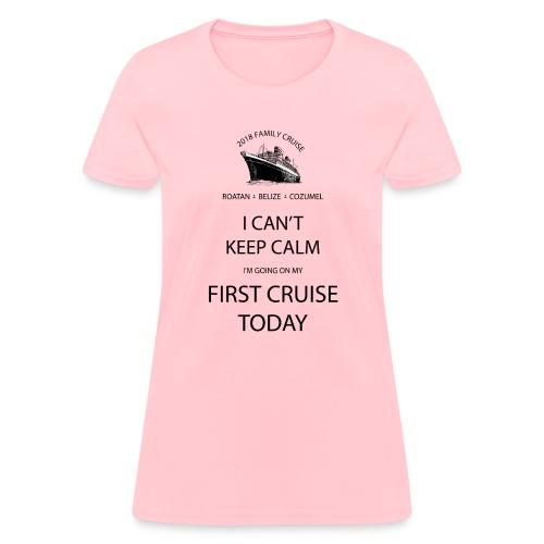 Family 1st Cruise - Women's T-Shirt