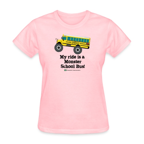 Monster Schoolbus Spreadshirt 3 png - Women's T-Shirt