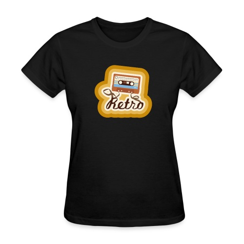 Retro-Cassette - Women's T-Shirt