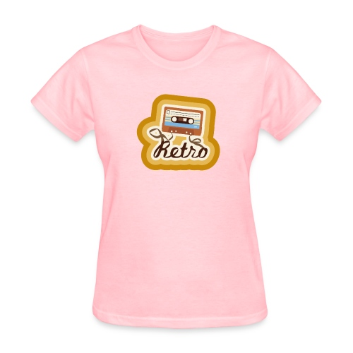 Retro-Cassette - Women's T-Shirt