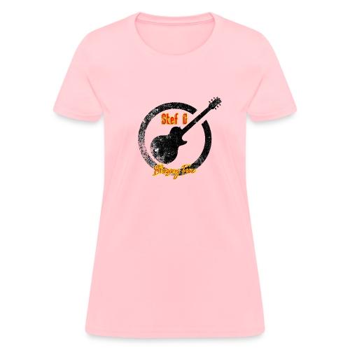 Stef G - Blazing Fire Design 1 - Women's T-Shirt