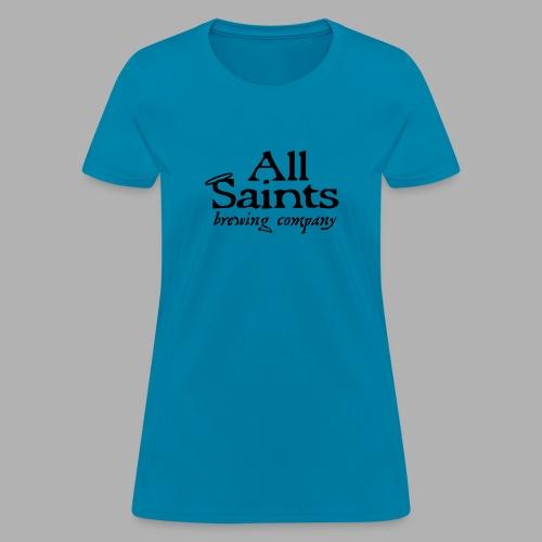 All Saints Logo Black - Women's T-Shirt