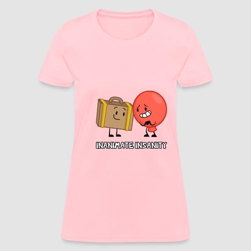 Suitcase Balloon Duo - Women's T-Shirt