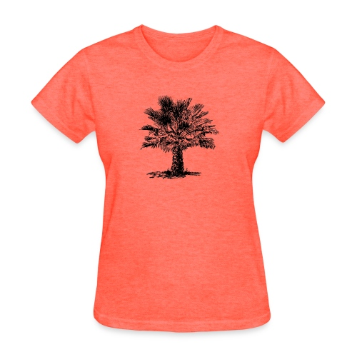 Palmetto Palm Tree - Women's T-Shirt