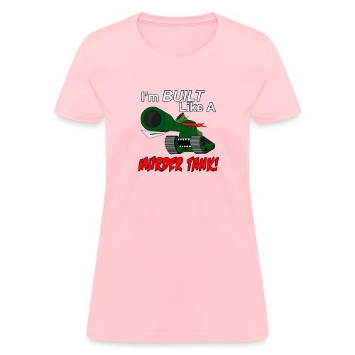 Murder Tank Red - Women's T-Shirt