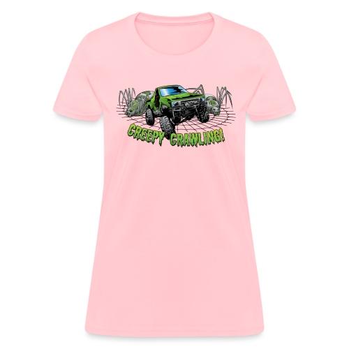 Creepy Truck Crawler blk web - Women's T-Shirt