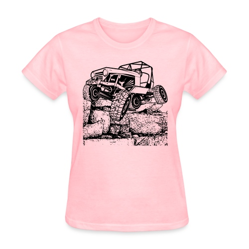 Off Road Rock Crawling - Women's T-Shirt