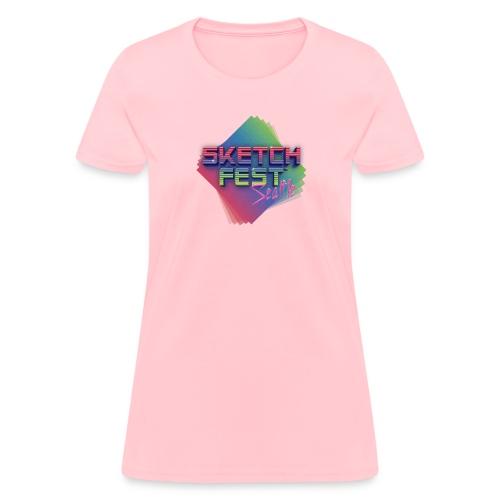 SketchFest2016 Tshirt 2500x2500 png - Women's T-Shirt