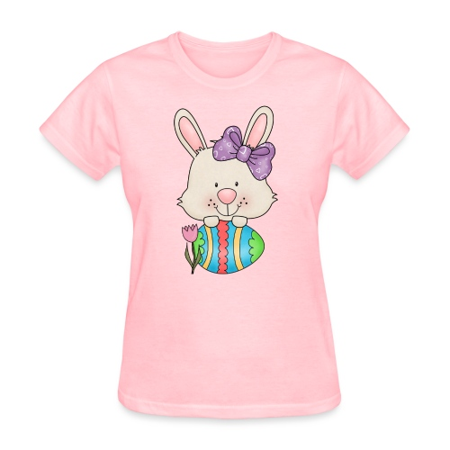 Easter Egg Bunny 3 png - Women's T-Shirt