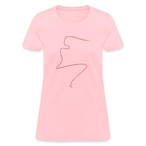Linear Woman - Women's T-Shirt