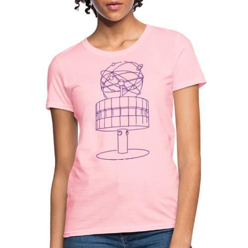 World time clock Berlin - Women's T-Shirt