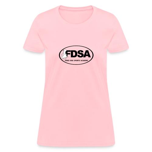 FDSA BLACKWHITE LOGO 2018 - Women's T-Shirt