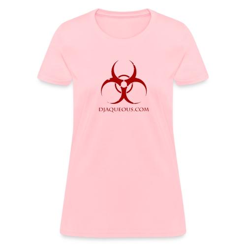 AQ Design logo red II png - Women's T-Shirt