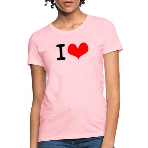 I Love what - Women's T-Shirt