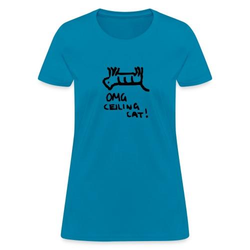 Ceiling Cat Logo - Women's T-Shirt
