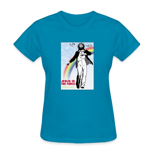 Jesus is Dancing on Popular Culture - Women's T-Shirt