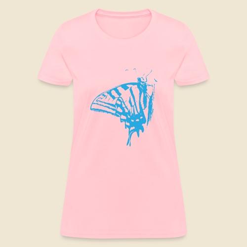Blue Butterfly - Women's T-Shirt