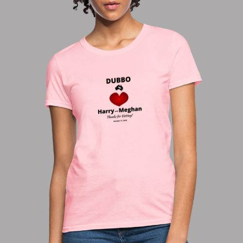 Prince Harry and Meghan Visit Dubbo - 17/10/2018 - Women's T-Shirt