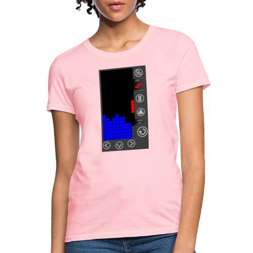 Lazy Eye Blocks - Play - Women's T-Shirt