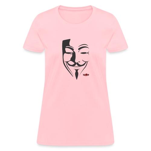 HACK4FUN Guy Fawkes - Women's T-Shirt