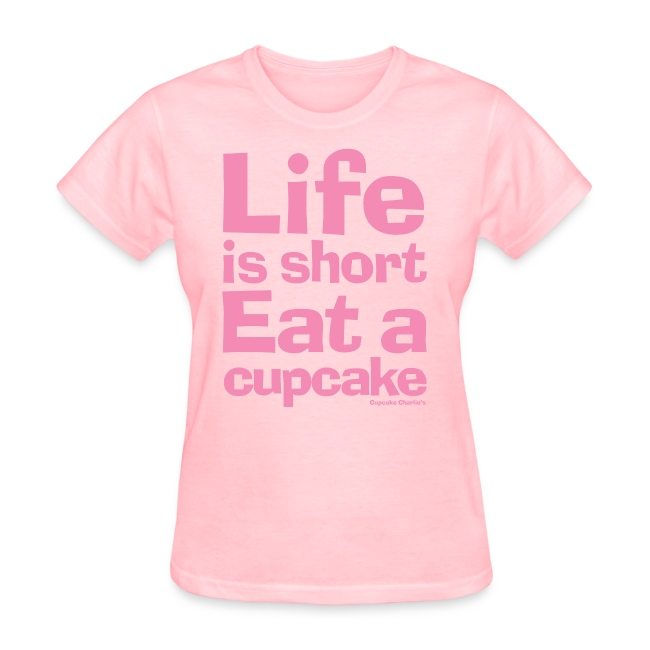 lifeisshort pink