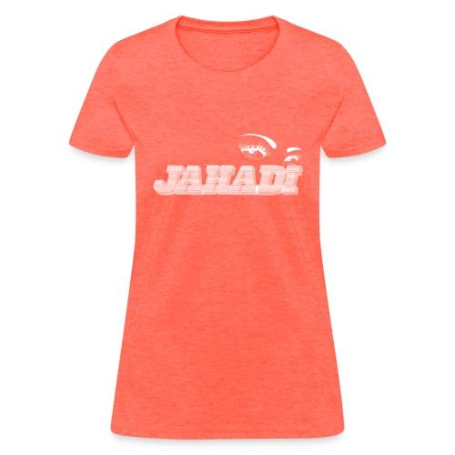 hadilogoWHITE - Women's T-Shirt