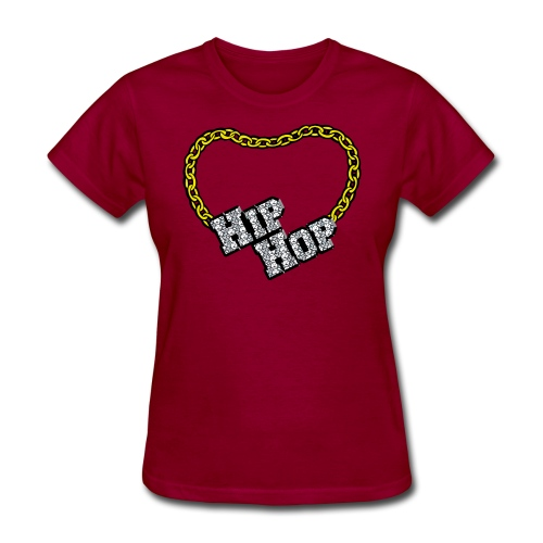 Hip Hop Bling - Women's T-Shirt