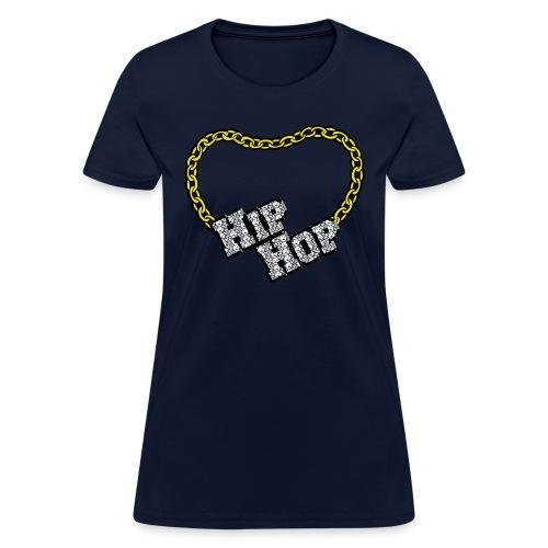 Hip Hop Bling - Women's T-Shirt