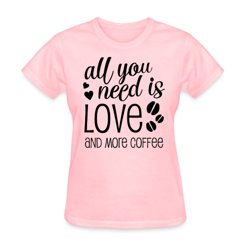 allyouneed png - Women's T-Shirt