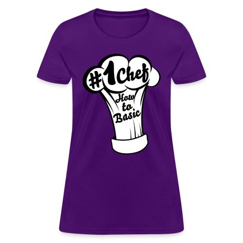 chefs hat01 - Women's T-Shirt