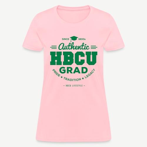 Authentic HBCU Grad - Women's T-Shirt