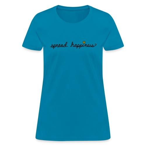 Spread Happiness Women's T-shirt - Women's T-Shirt