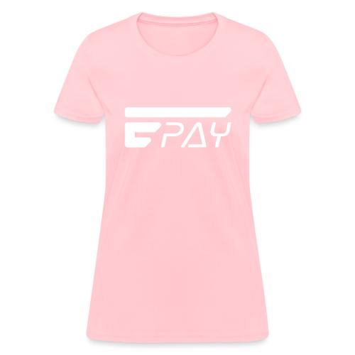 EUNOPAY LOGO WHITE - Women's T-Shirt