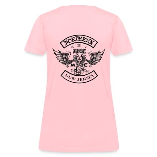 Northern Jersey MC Design png - Women's T-Shirt