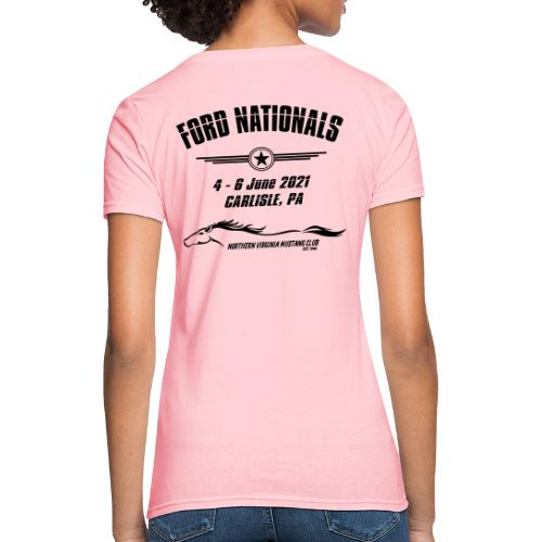 Ford Nationals 2021 with Mustang Flag - Women's T-Shirt