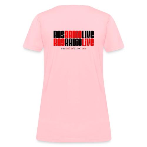 rasradiolive logo fixed png - Women's T-Shirt