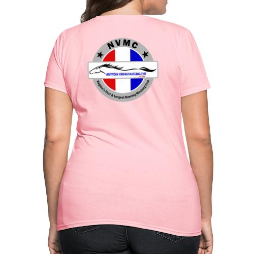 Circle logo t-shirt on silver/gray - Women's T-Shirt