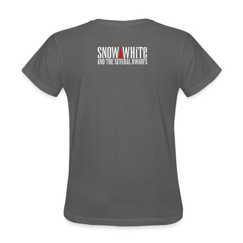 snow white logo bw - Women's T-Shirt