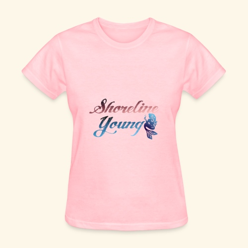 Shorlinepinkblue - Women's T-Shirt