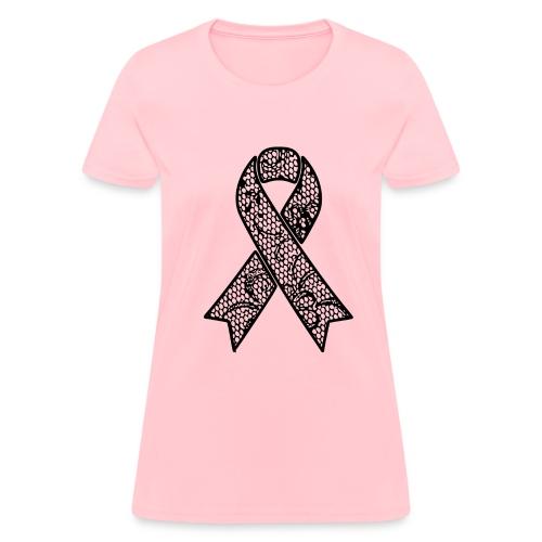 lace ribbon - Women's T-Shirt