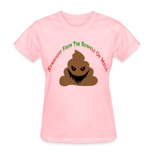 Evil Poo - Women's T-Shirt