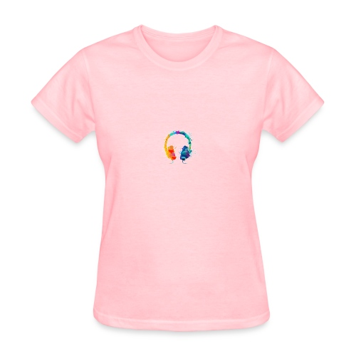 Colourful headset - Women's T-Shirt