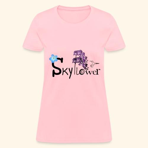 skyflower logo - Women's T-Shirt