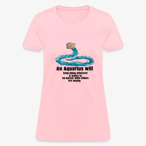 Aquarius - Women's T-Shirt