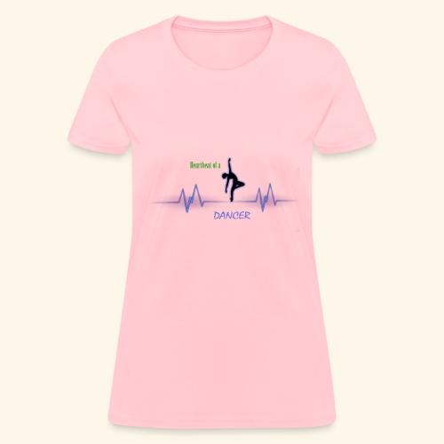 heartbeatdancer1 - Women's T-Shirt