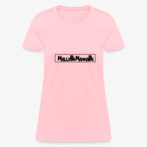 WallyBeWannaBe Black - Women's T-Shirt